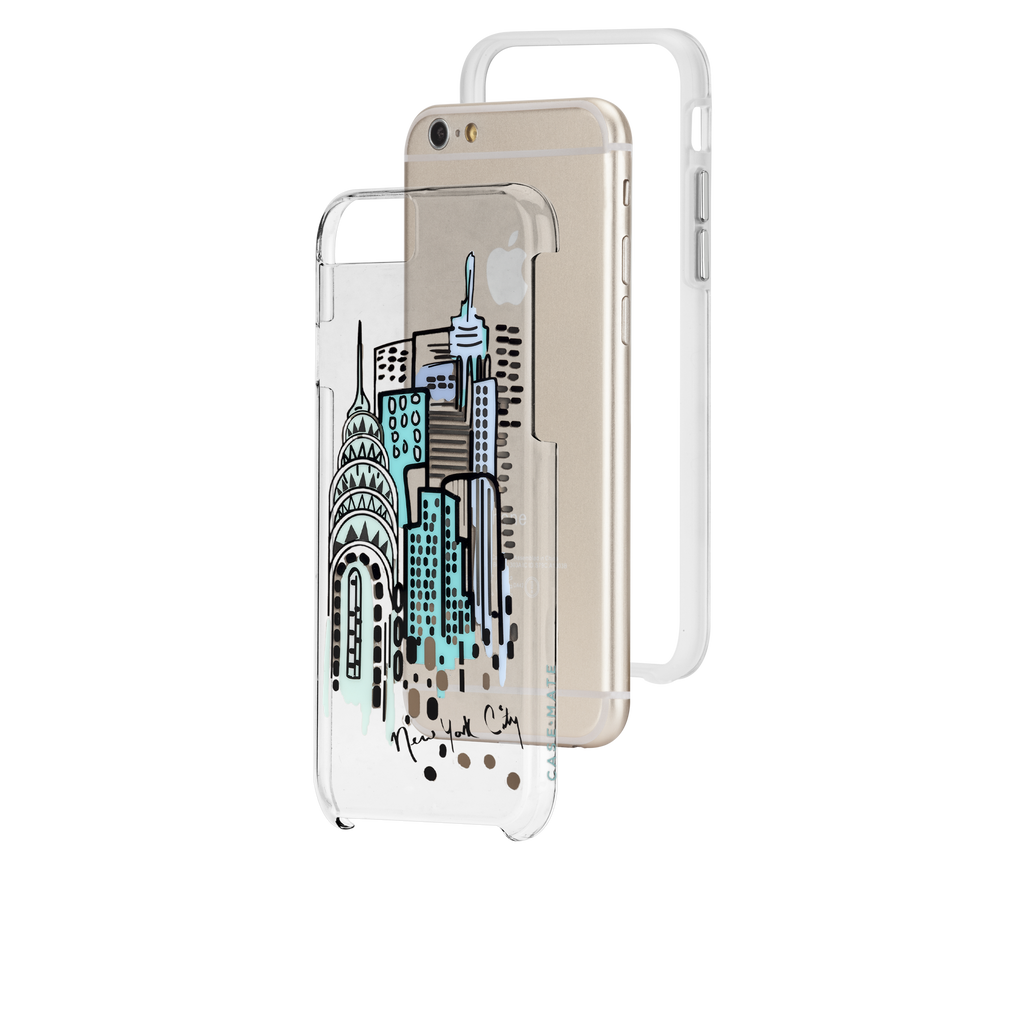 iPhone 6s Clear Naked Tough City Prints - New York - City View Case - image angle 8