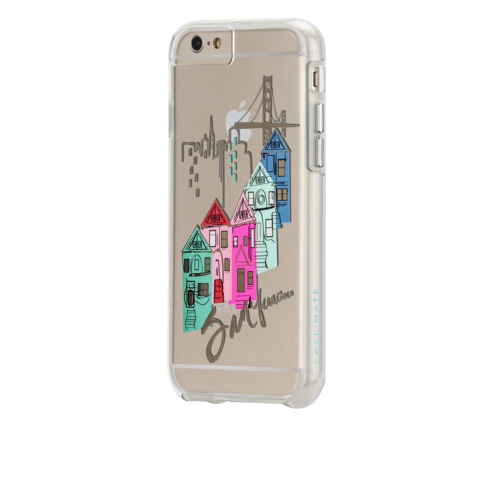 iPhone 6s Clear Naked Tough City Prints - San Francisco - Discover San Francisco Case - image angle 3