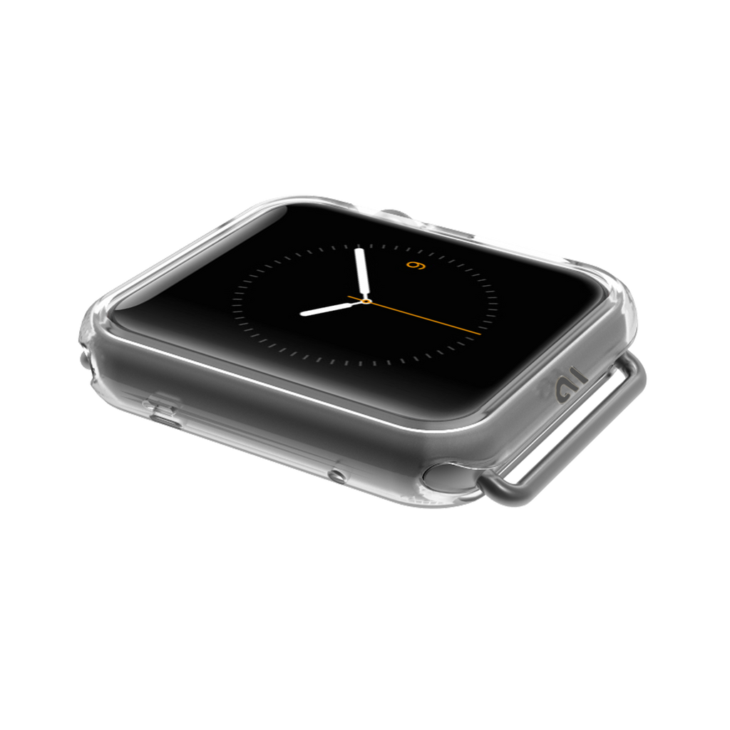 Apple Watch 42mm Clear Naked Tough Bumper - image angle 1