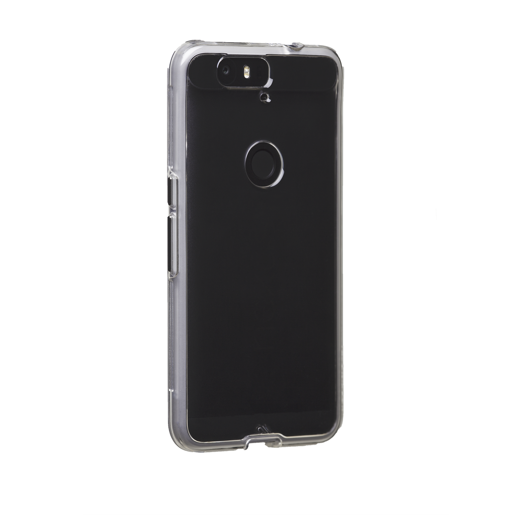 Huawei Nexus 6P Clear Naked Tough Case - image angle 1