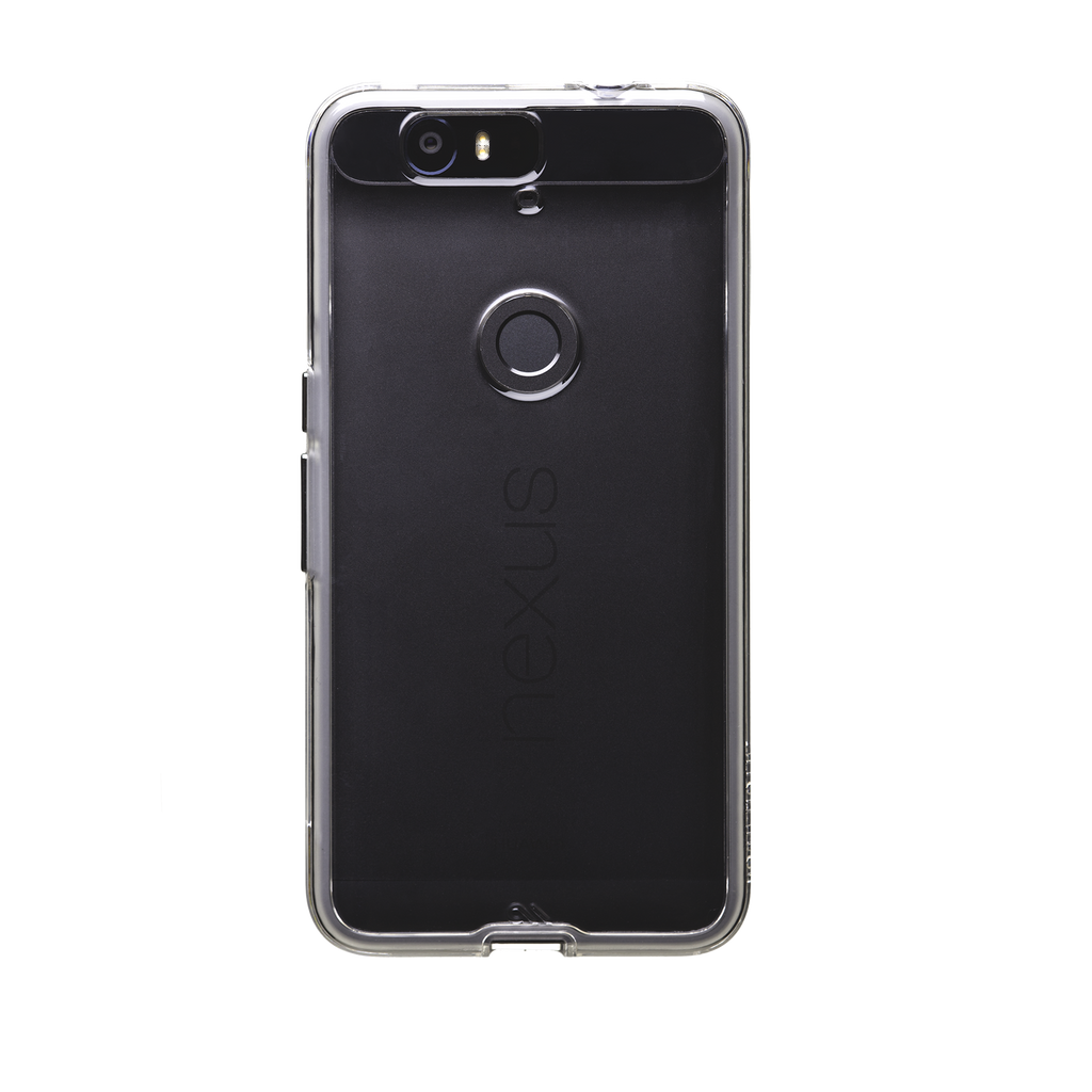 Huawei Nexus 6P Clear Naked Tough Case - image angle 7
