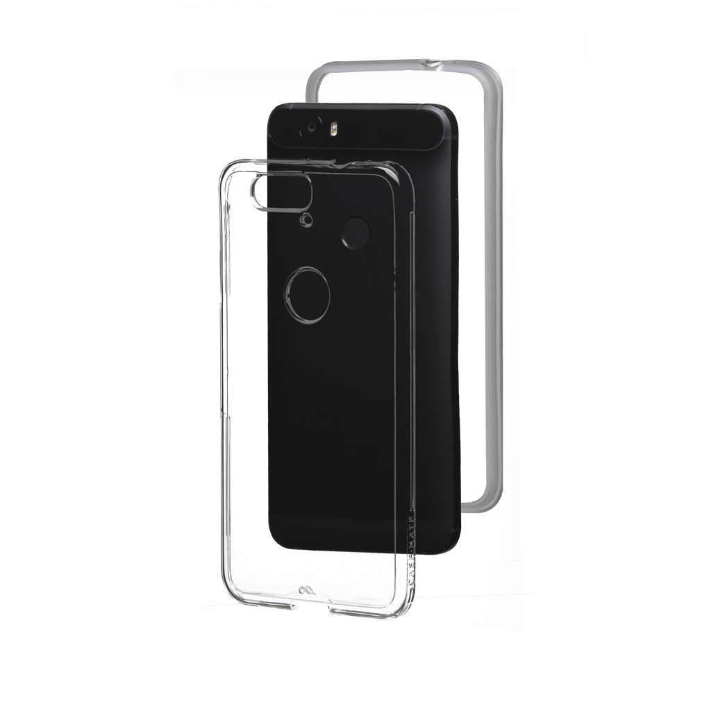 Huawei Nexus 6P Clear Naked Tough Case - image angle 8