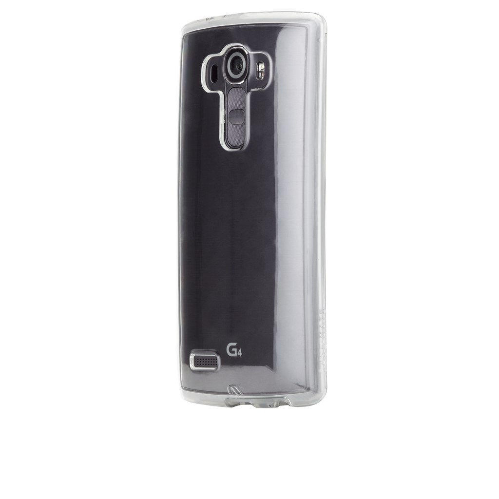 LG G4 Clear Naked Tough Case - image angle 2