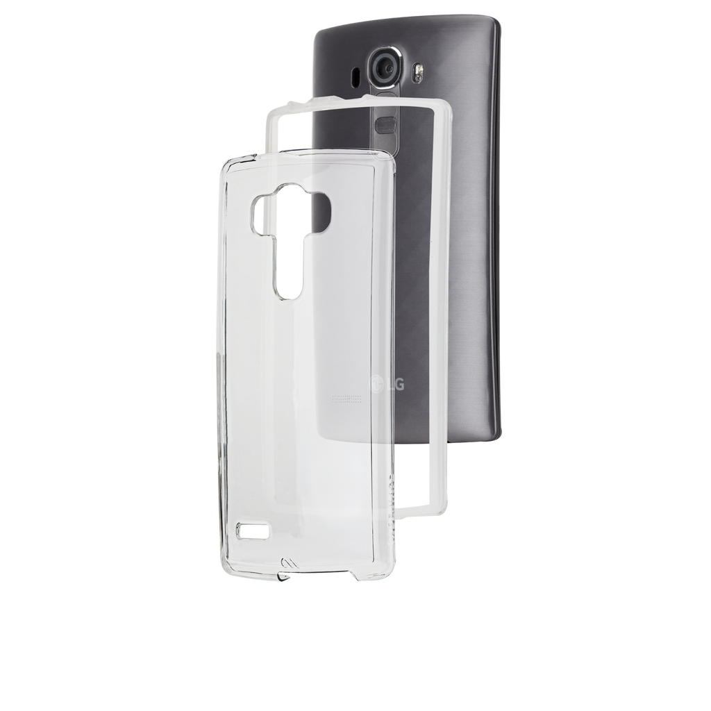 LG G4 Clear Naked Tough Case - image angle 8