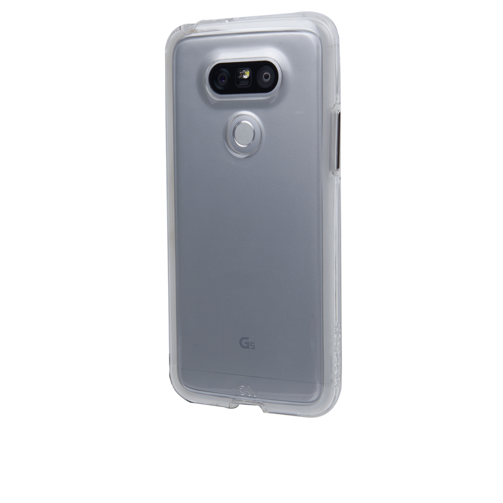 LG G5 Clear Naked Tough Case - image angle 3