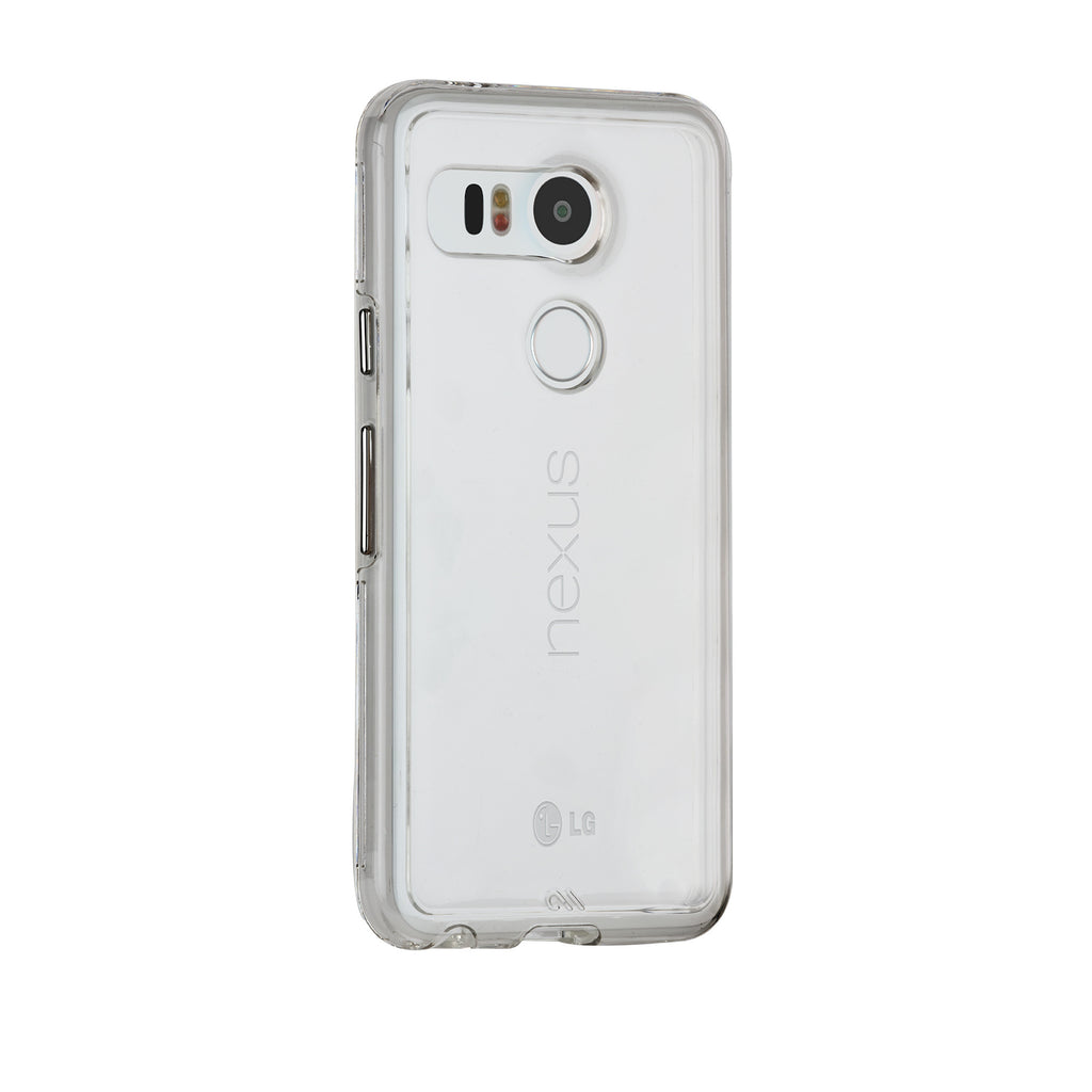 LG Nexus 5x Clear Naked Tough Case - image angle 1