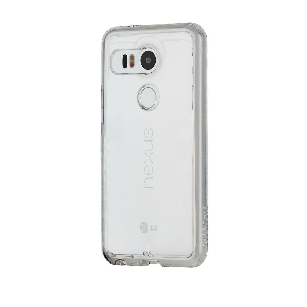 LG Nexus 5x Clear Naked Tough Case - image angle 3
