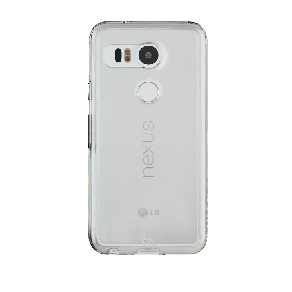 LG Nexus 5x Clear Naked Tough Case - image angle 7