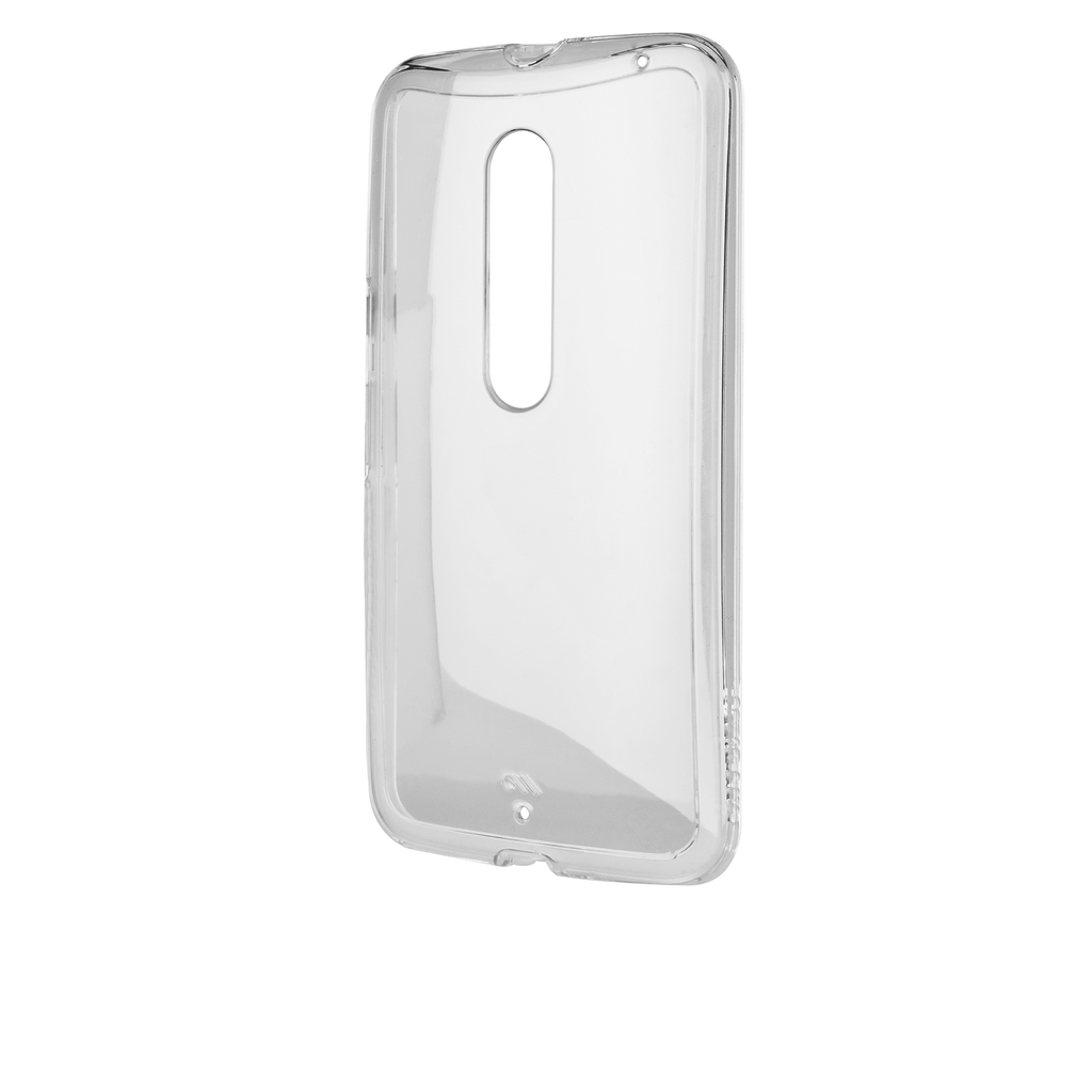 Moto X Pure Edition Clear Naked Tough Case - image angle 12