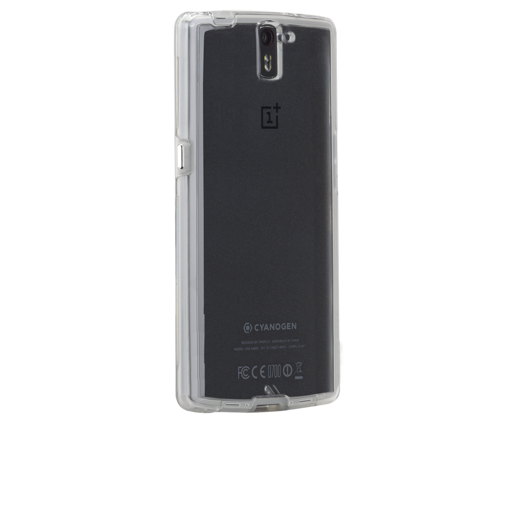 OnePlus One Clear Naked Tough Case - image angle 1