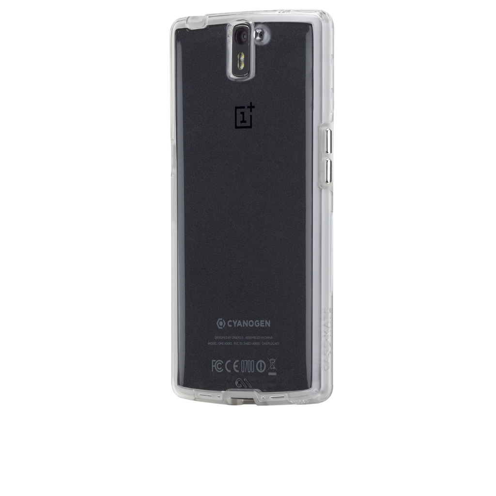 OnePlus One Clear Naked Tough Case - image angle 3