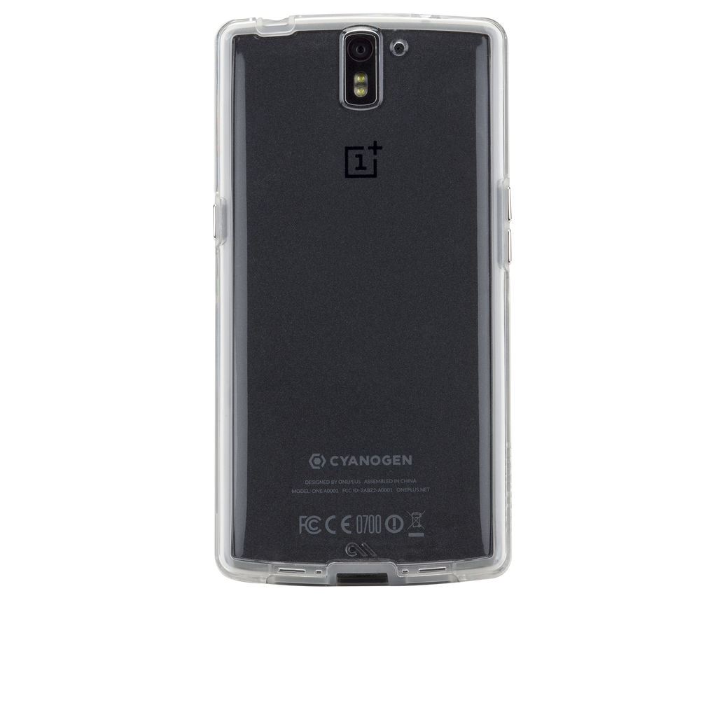 OnePlus One Clear Naked Tough Case - image angle 7