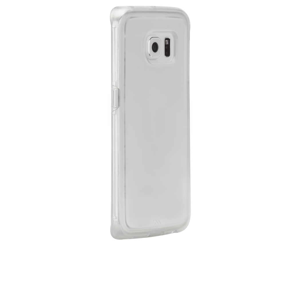Samsung Galaxy S6 Edge Clear & Clear Naked Tough Case - image angle 1