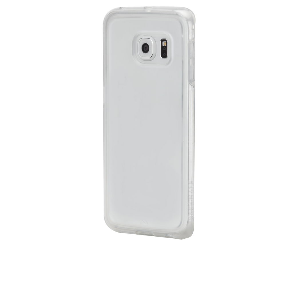 Samsung Galaxy S6 Edge Clear & Clear Naked Tough Case - image angle 3