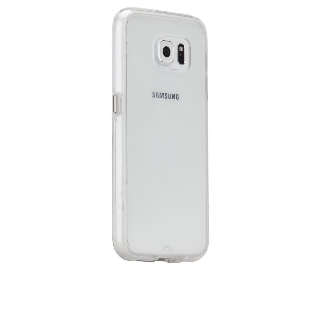 Samsung Galaxy S6 Clear Naked Tough Case - image angle 1
