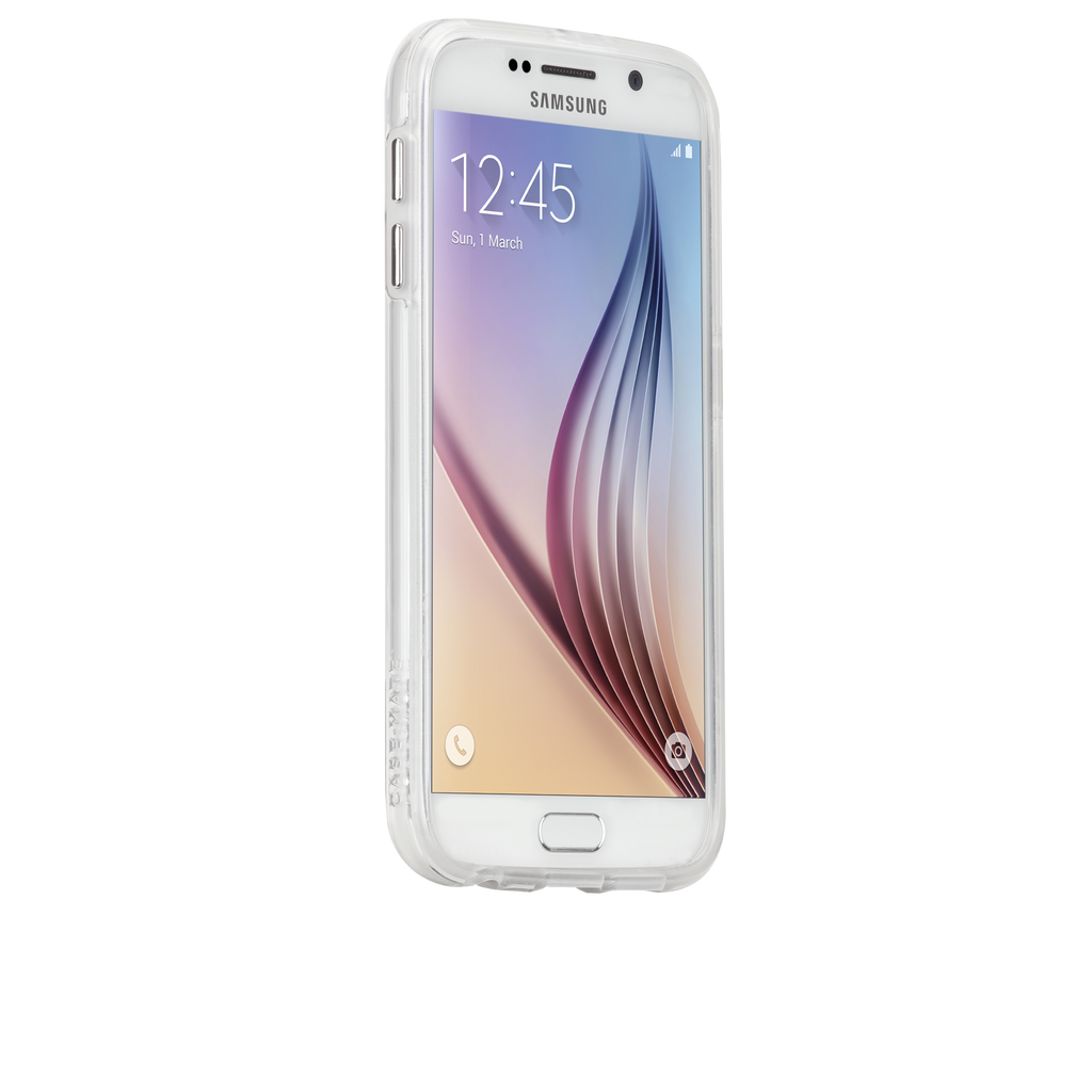 Samsung Galaxy S6 Clear Naked Tough Case - image angle 2