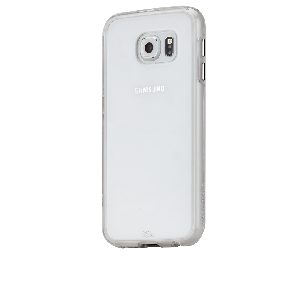 Samsung Galaxy S6 Clear Naked Tough Case - image angle 3