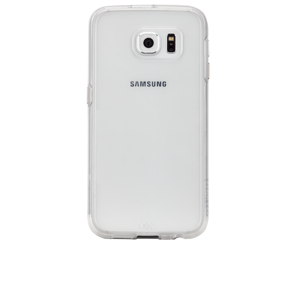 Samsung Galaxy S6 Clear Naked Tough Case - image angle 7