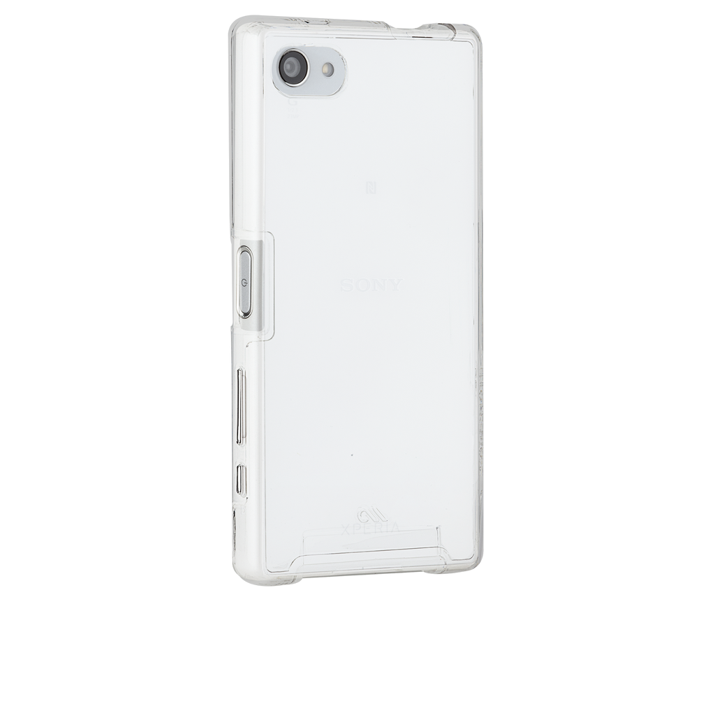 Sony Xperia Z5 Compact Clear Naked Tough Case - image angle 1