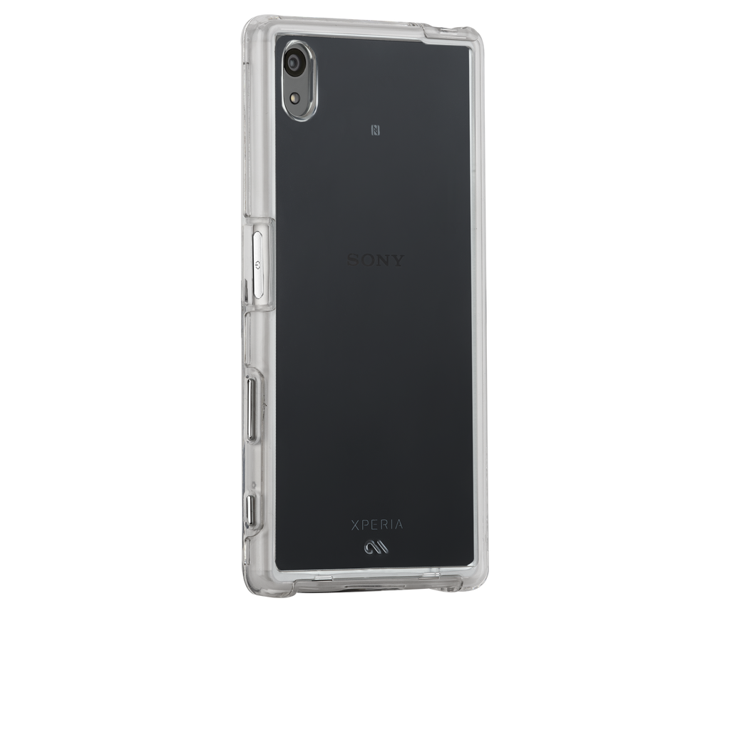 Sony Xperia Z5 Clear Naked Tough Case - image angle 1