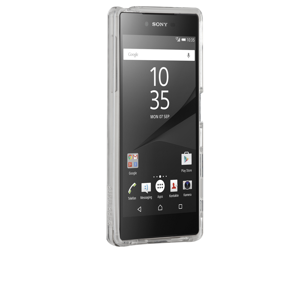 Sony Xperia Z5 Clear Naked Tough Case - image angle 2