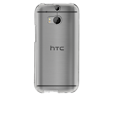 HTC One (M8) Naked Tough Case - Clear