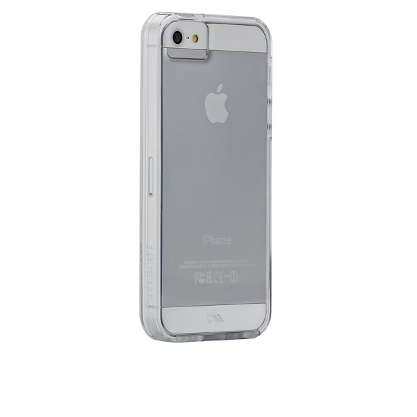 iPhone SE Clear Naked Tough Case - image angle 1