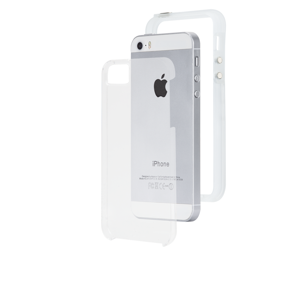 iPhone SE Clear Naked Tough Case - image angle 8