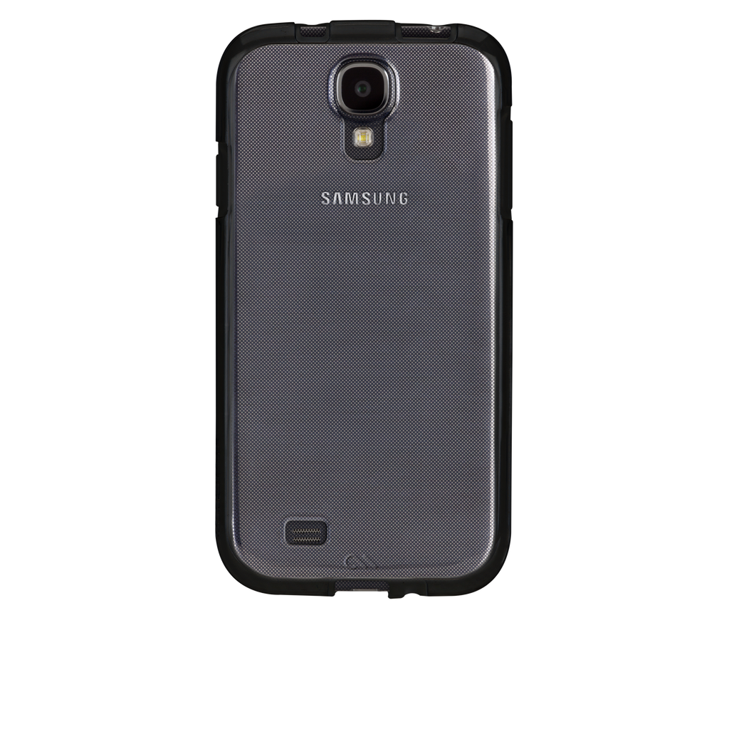 Samsung GALAXY S4 Clear w/ Black Bumper Naked Tough Case - image angle _7