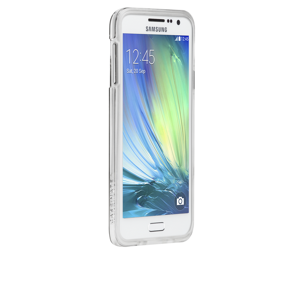 Samsung Galaxy A3 Clear Bumper Naked Tough Case - image angle 2