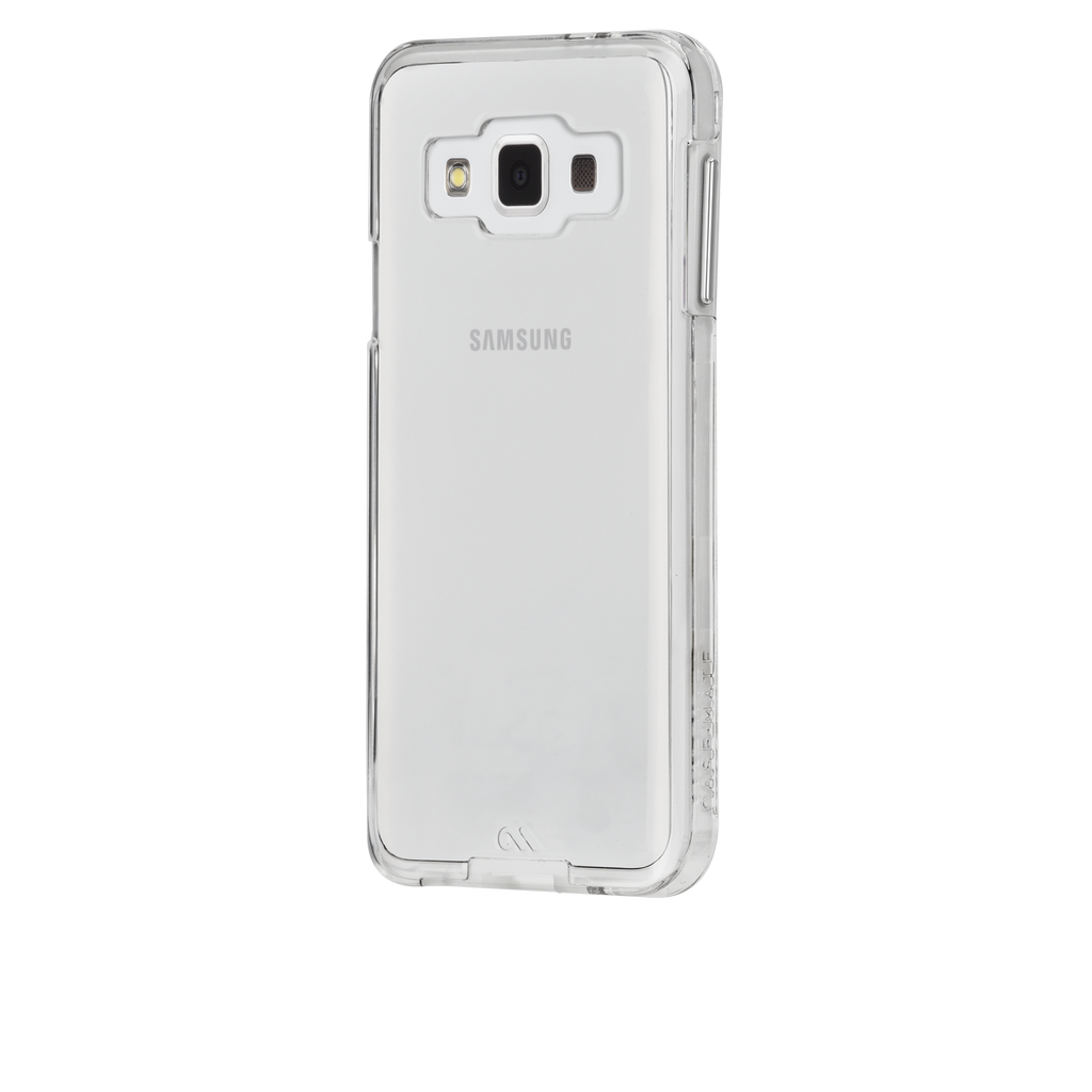 Samsung Galaxy A3 Clear Bumper Naked Tough Case - image angle 3