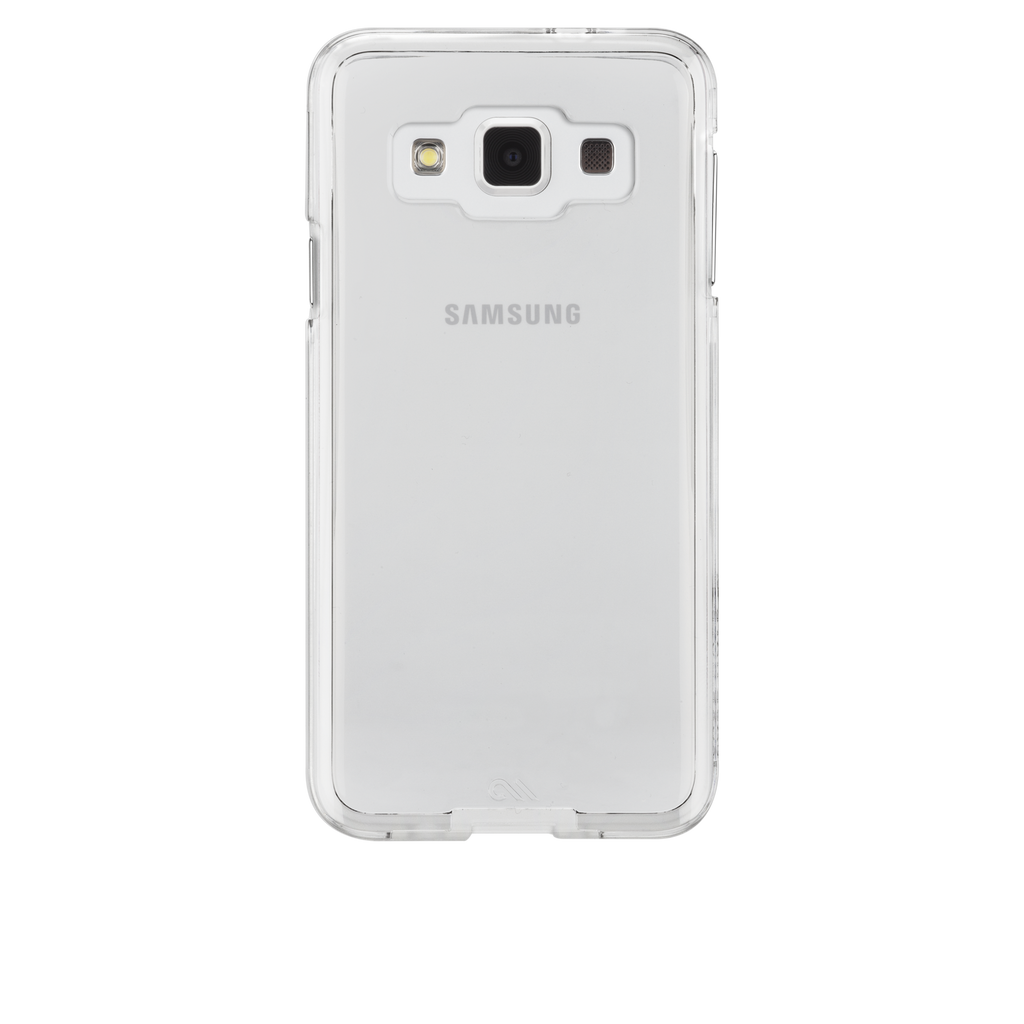 Samsung Galaxy A3 Clear Bumper Naked Tough Case - image angle 7