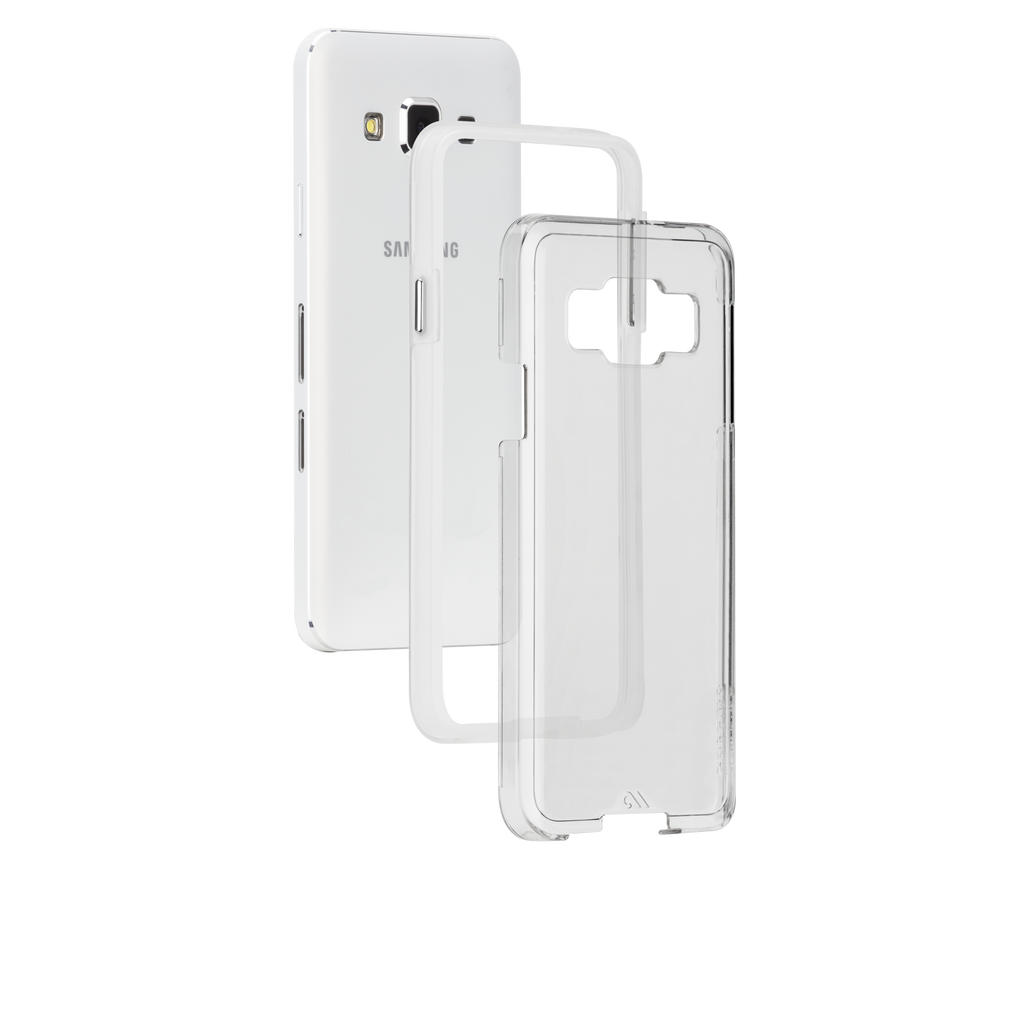Samsung Galaxy A3 Clear Bumper Naked Tough Case - image angle 8