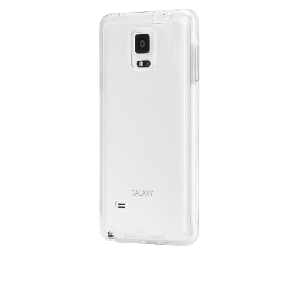 Samsung GALAXY Note 4 Clear Naked Tough Case - image angle 3