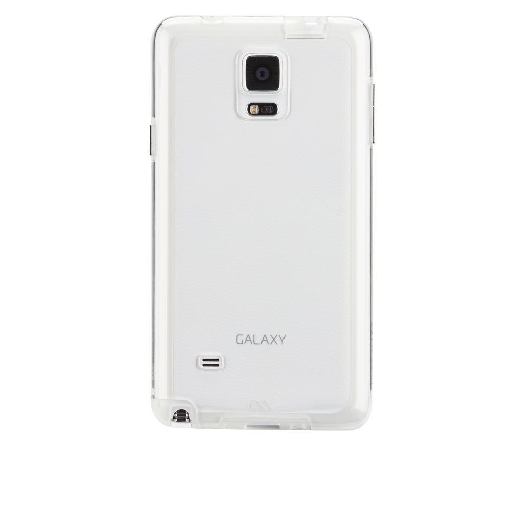 Samsung GALAXY Note 4 Clear Naked Tough Case - image angle 7