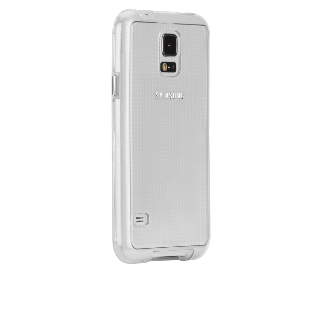 Samsung GALAXY S5 Clear & Clear Bumper Naked Tough Case - image angle 1