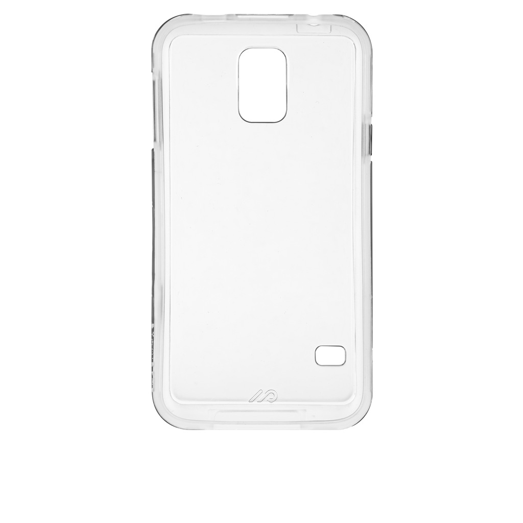 Samsung GALAXY S5 Clear Bumper Naked Tough Case - image angle 26