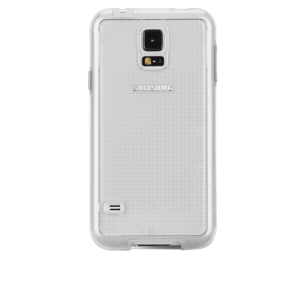 Samsung GALAXY S5 Clear Bumper Naked Tough Case - image angle 7
