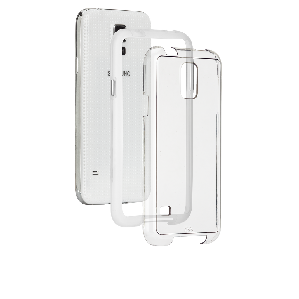 Samsung GALAXY S5 Clear Bumper Naked Tough Case - image angle 8