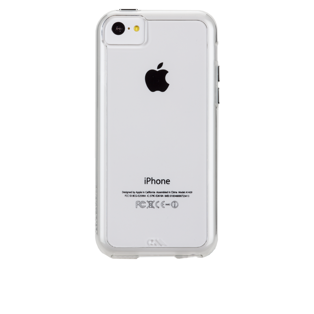 iPhone 5c Clear Bumper Naked Tough Case - image angle 7