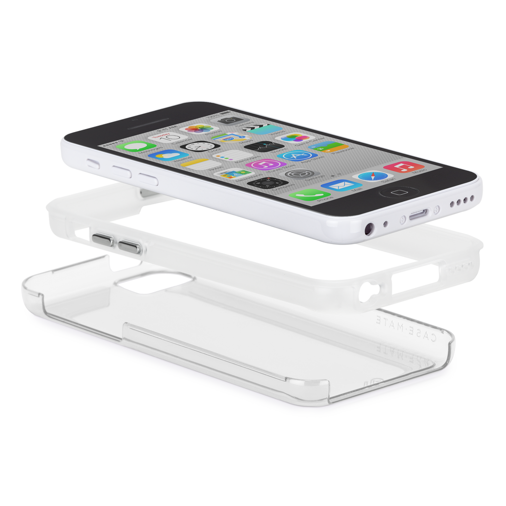 iPhone 5c Clear Bumper Naked Tough Case - image angle 8