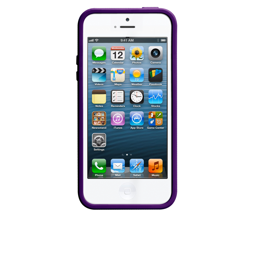 iPhone 5/5s Pool Blue & Violet Purple Pop! Case - image angle 6