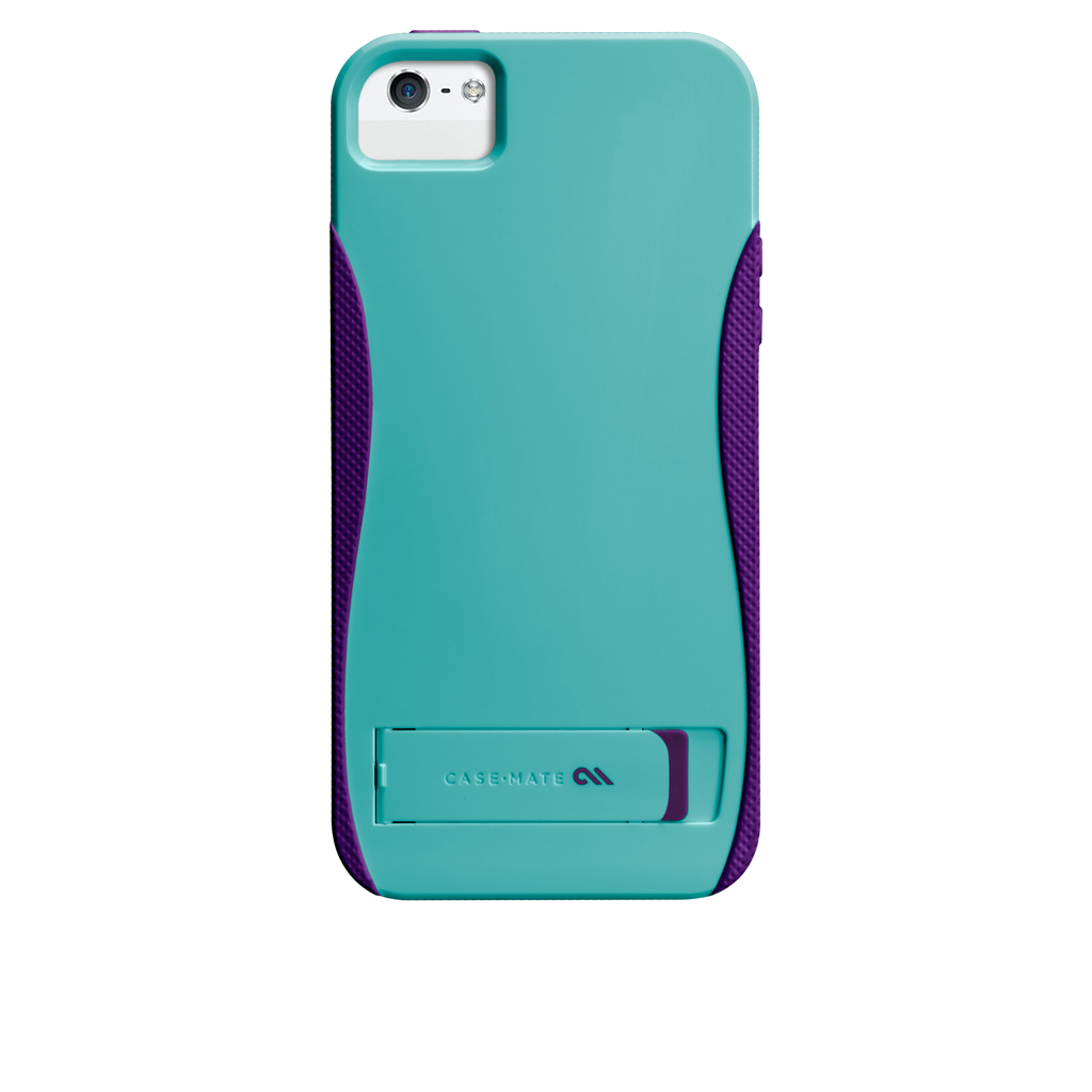 iPhone 5/5s Pool Blue & Violet Purple Pop! Case - image angle 7