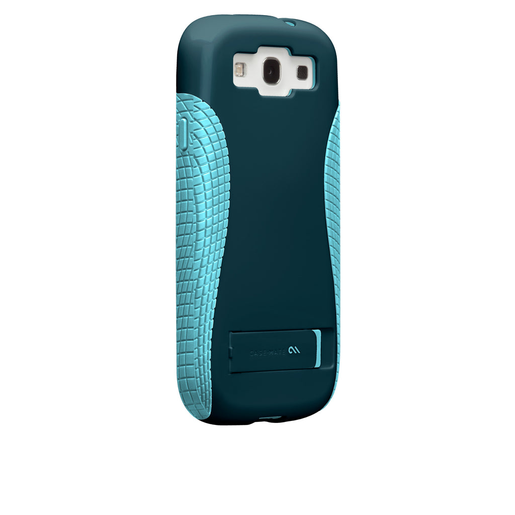 Samsung GALAXY S3 Navy & Aqua Pop! Case - image angle 1