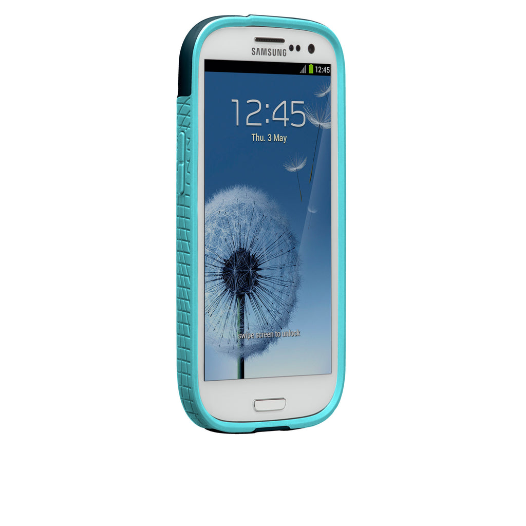 Samsung GALAXY S3 Navy & Aqua Pop! Case - image angle 2