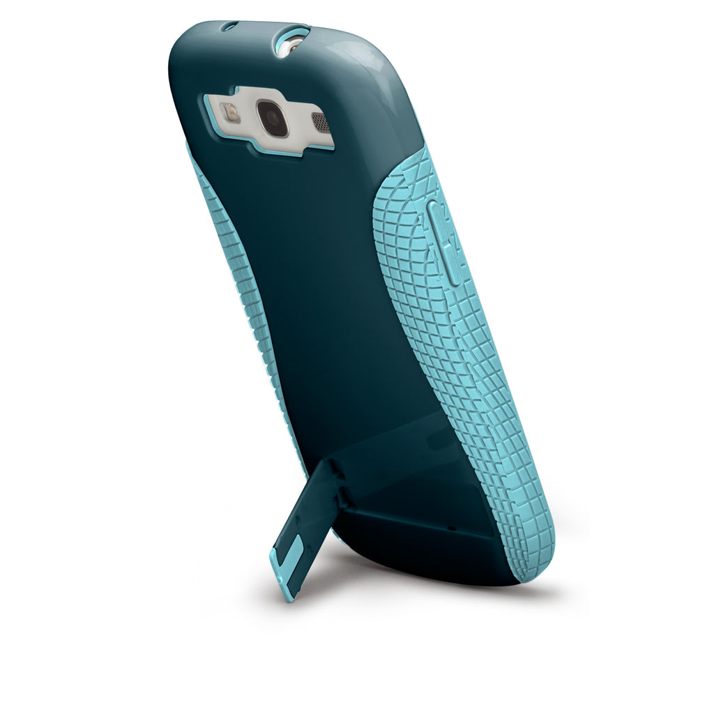 Samsung GALAXY S3 Navy & Aqua Pop! Case - image angle 8