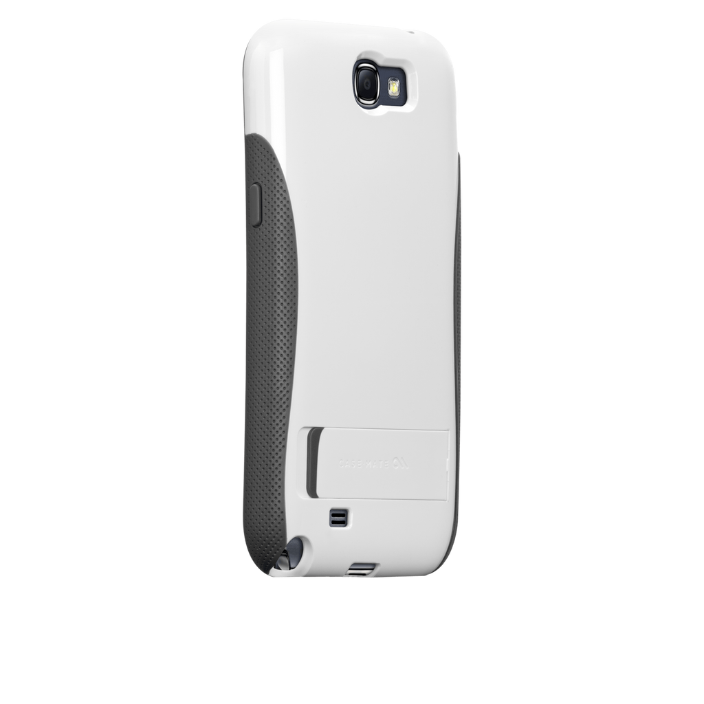 Samsung GALAXY Note 2 White & Grey Pop! Case - image angle 1