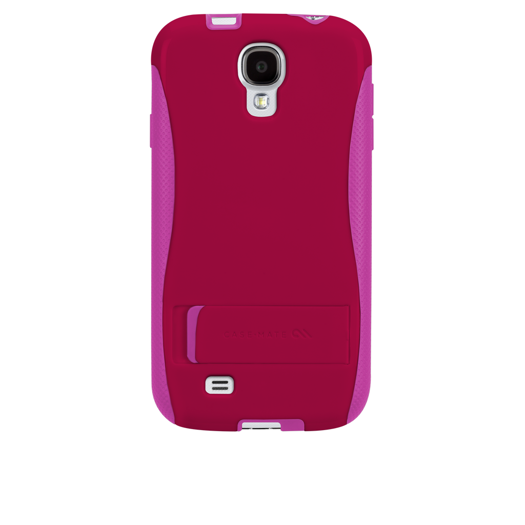 Samsung GALAXY S4 Ruby Red & Shocking Pink Pop! Case - image angle _7