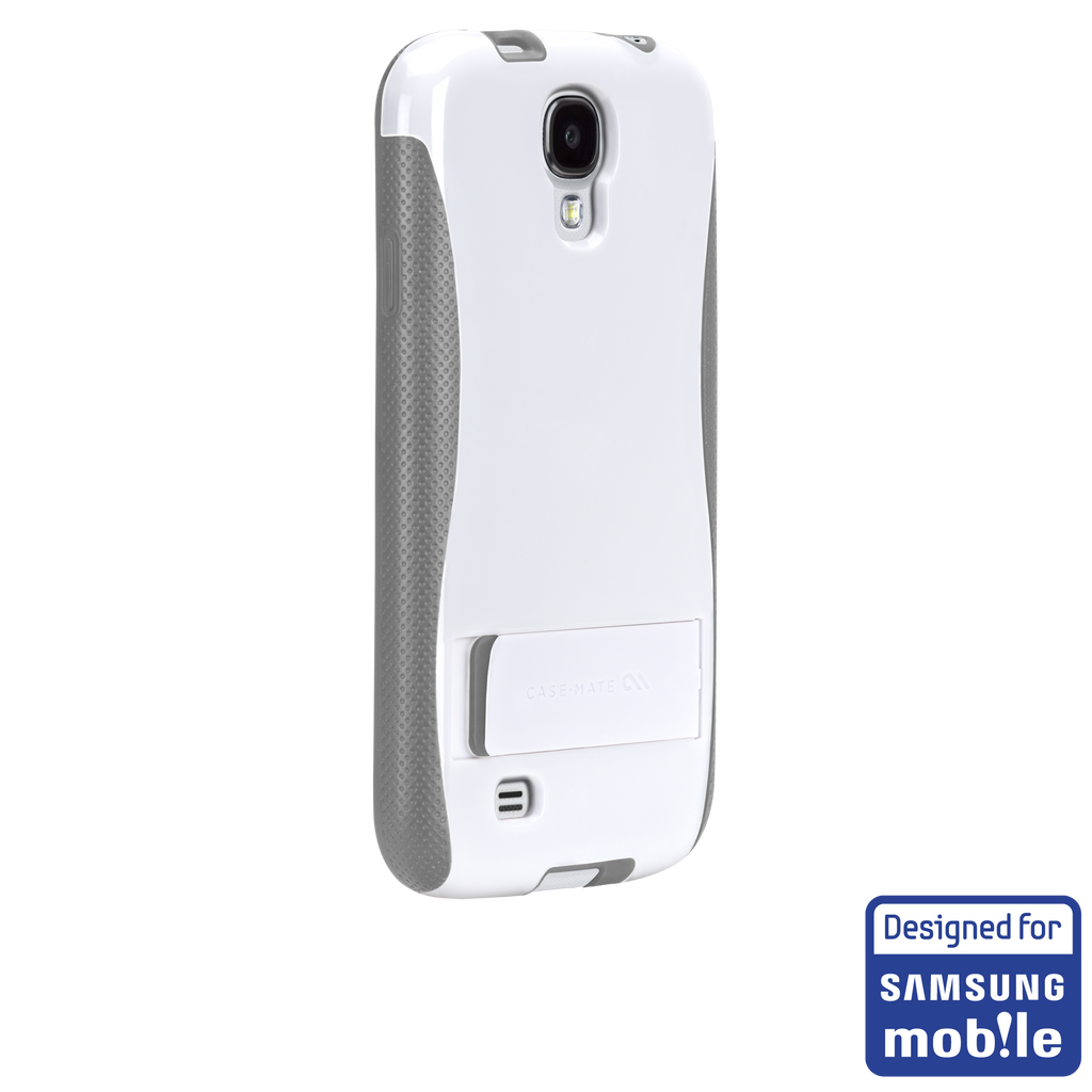 Samsung GALAXY S4 White & Grey Pop! Case - image angle _1a