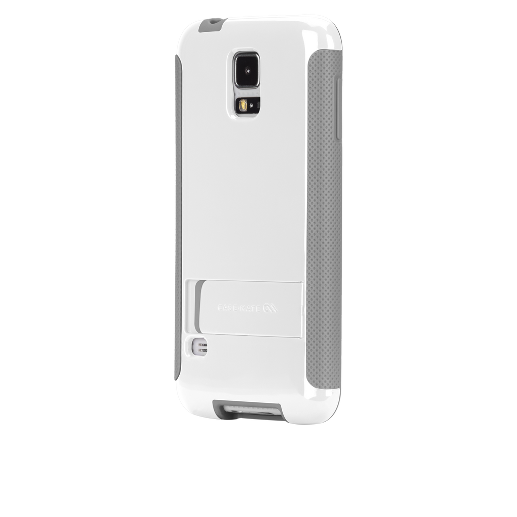 Samsung GALAXY S5 White & Grey Pop! Case - image angle 3